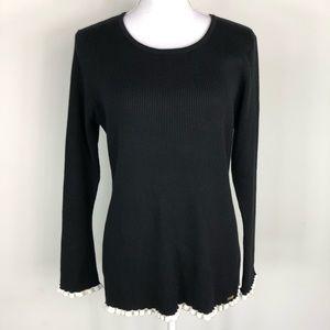 Calvin Klein Black & White Sweater